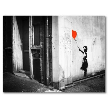 Αφίσα (κορίτσι, αγάπη, καρδιά)